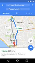 Uso de la navegación GPS - LG K10 - Passo 16