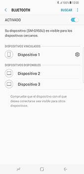 Conecta con otro dispositivo Bluetooth - Samsung Galaxy S8+ - Passo 9