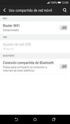 Configura el hotspot móvil - HTC Desire 626s - Passo 6