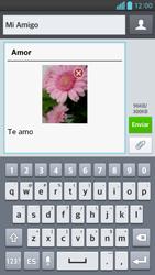Envía fotos, videos y audio por mensaje de texto - LG Optimus G Pro Lite - Passo 18