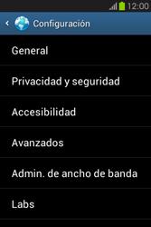 Configura el Internet - Samsung Galaxy Fame GT - S6810 - Passo 22