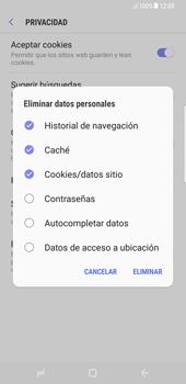 Limpieza de explorador - Samsung Galaxy S8+ - Passo 11