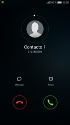 Contesta, rechaza o silencia una llamada - Huawei P9 - Passo 3