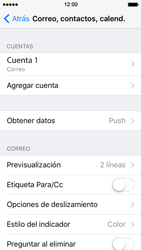 Configura tu correo electrónico - Apple iPhone SE - Passo 26