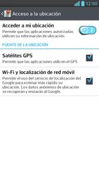 Uso de la navegación GPS - LG Optimus G Pro Lite - Passo 8