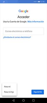 Crea una cuenta - Huawei P30 Pro - Passo 4