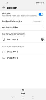 Conecta con otro dispositivo Bluetooth - Huawei Nova 5T - Passo 8