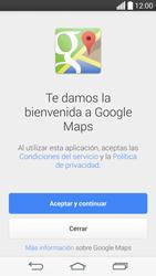 Uso de la navegación GPS - LG G3 Beat - Passo 4
