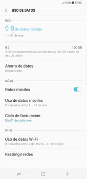 Desactivación límite de datos móviles - Samsung Galaxy S8+ - Passo 6