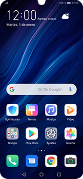 Configura el WiFi - Huawei P30 Pro - Passo 2
