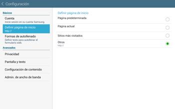 Configura el Internet - Samsung Galaxy Note Pro - Passo 24