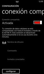 Configura el hotspot móvil - Nokia Lumia 925 - Passo 6