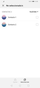 ¿Tu equipo puede copiar contactos a la SIM card? - Huawei P30 - Passo 9