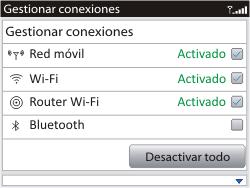 Configura el hotspot móvil - BlackBerry Curve 9320 - Passo 11
