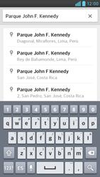 Uso de la navegación GPS - LG Optimus G Pro Lite - Passo 13