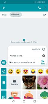 Envía fotos, videos y audio por mensaje de texto - Huawei Mate 20 Lite - Passo 9