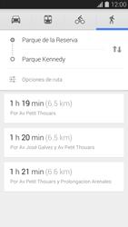 Uso de la navegación GPS - Samsung Galaxy S5 - G900F - Passo 14