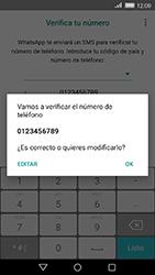 Configuración de Whatsapp - Huawei Cam Y6 II - Passo 9