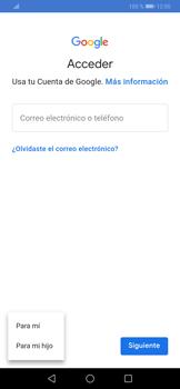 Crea una cuenta - Huawei P30 - Passo 4