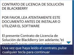 Activa el equipo - BlackBerry Curve 9320 - Passo 5