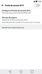 Configura el hotspot móvil - LG G5 SE - Passo 8