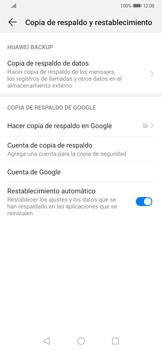 Realiza una copia de seguridad con tu cuenta - Huawei Mate 20 Pro - Passo 8