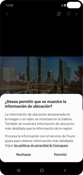 Opciones de la cámara - Samsung S10+ - Passo 12