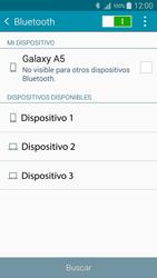 Conecta con otro dispositivo Bluetooth - Samsung Galaxy A5 - A500M - Passo 6