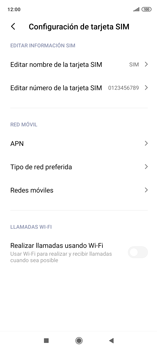 Configura el Internet - Xiaomi Redmi Note 9 Pro - Passo 7