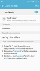Configura el hotspot móvil - Samsung Galaxy S7 - G930 - Passo 12