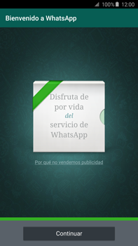 Configuración de Whatsapp - Samsung Galaxy Note 5 - N920 - Passo 9