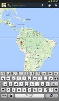 Uso de la navegación GPS - Samsung Galaxy Tab 3 7.0 - Passo 5