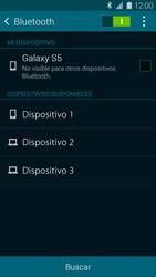 Conecta con otro dispositivo Bluetooth - Samsung Galaxy S5 - G900F - Passo 6
