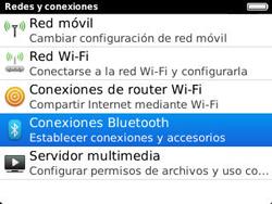 Conecta con otro dispositivo Bluetooth - BlackBerry Curve 9320 - Passo 5