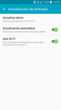 Actualiza el software del equipo - Samsung Galaxy J7 - J700 - Passo 7
