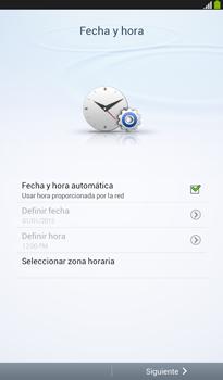 Activa el equipo - Samsung Galaxy Tab 3 7.0 - Passo 6