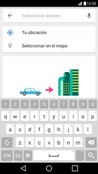 Uso de la navegación GPS - LG G4 - Passo 13