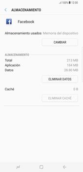 Limpieza de aplicación - Samsung Galaxy S8+ - Passo 7