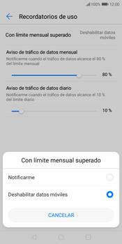 Desactivación límite de datos móviles - Huawei Y7 (2018) - Passo 8