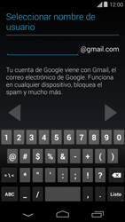 Crea una cuenta - Motorola Moto E (1st Gen) (Kitkat) - Passo 7