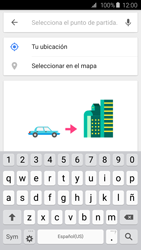 Uso de la navegación GPS - Samsung Galaxy S6 - G920 - Passo 8