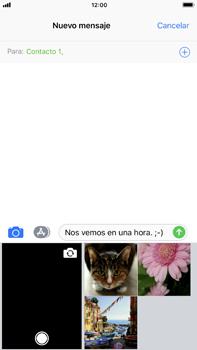 Envía fotos, videos y audio por mensaje de texto - Apple iPhone 8 Plus - Passo 9