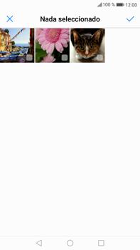 Envía fotos, videos y audio por mensaje de texto - Huawei Mate 9 - Passo 15