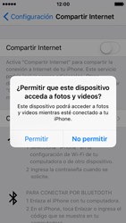 Comparte la conexión de datos con una PC - Apple iPhone SE - Passo 5
