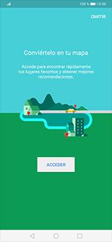 Uso de la navegación GPS - Huawei P30 Pro - Passo 4