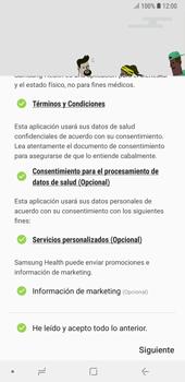 Samsung Health - Samsung A7 2018 - Passo 7