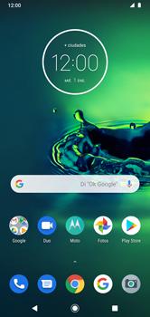 Modo seguro - Motorola Moto G8 Plus (Dual SIM) - Passo 1