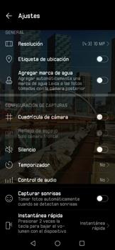 Opciones de la cámara - Huawei P30 - Passo 7