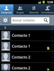 ¿Tu equipo puede copiar contactos a la SIM card? - Samsung Galaxy Y  GT - S5360 - Passo 9