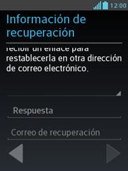 Crea una cuenta - LG Optimus L3 II - Passo 14
